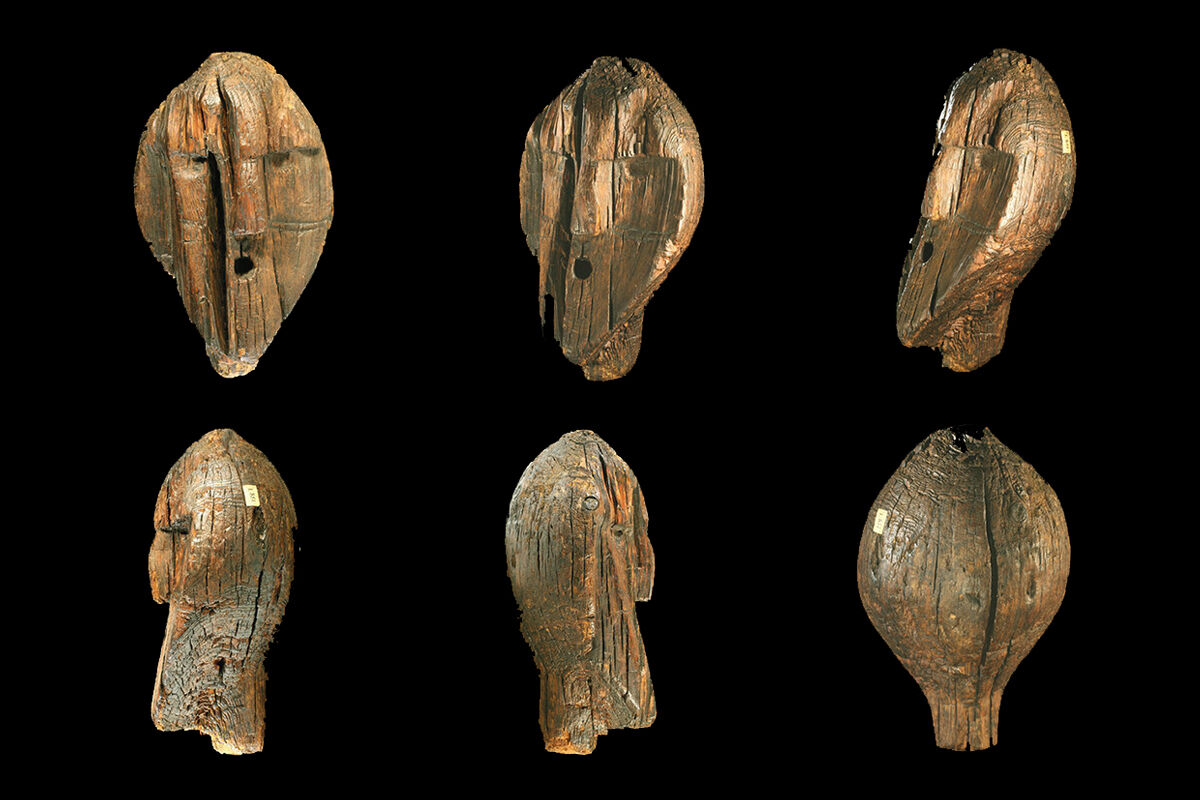 Shigir Idol. © Antiquity Publications Ltd, 2018. Courtesy of Thomas Terberger.