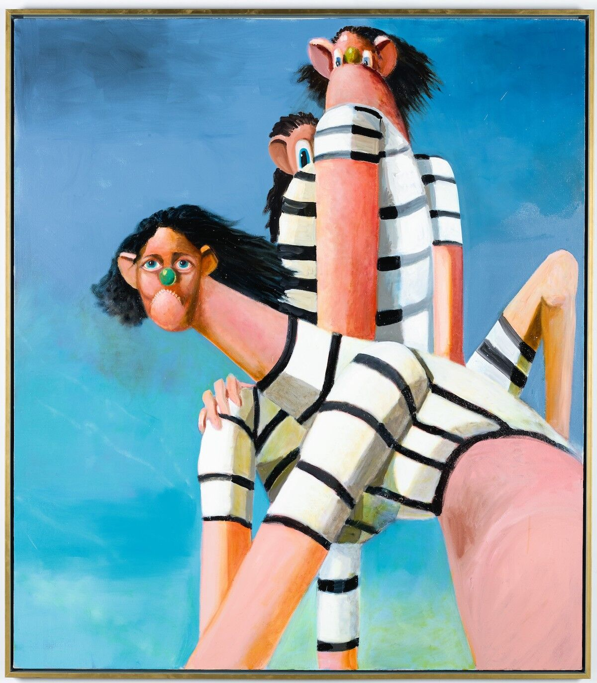 George Condo, Antipodal Reunion, 2005