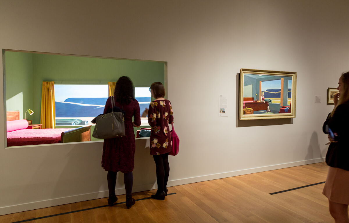Virginia Museum of Fine Arts Hopper Hotel Experience. Photo by Travis Fullerton. © Virginia Museum of Fine Arts, October 2019.