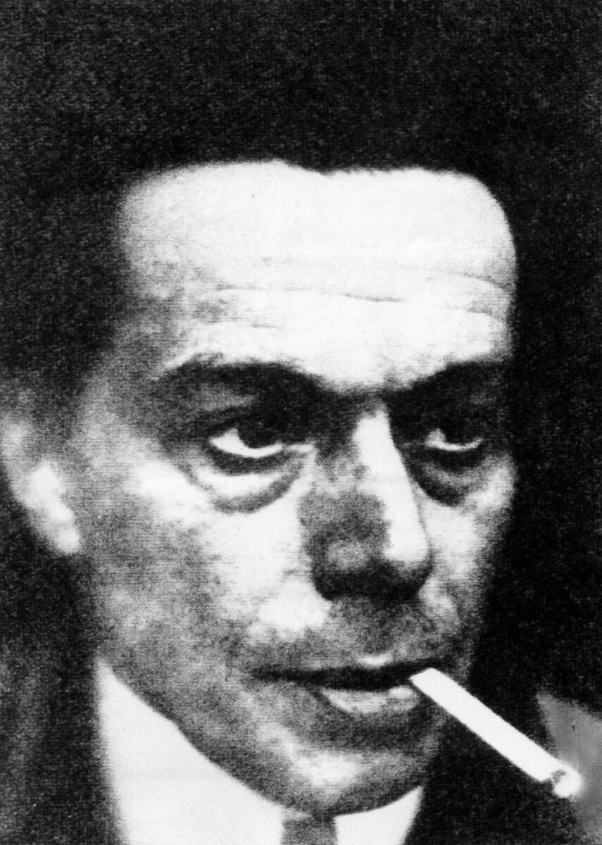 Portrait of Ernst Ludwig Kirchner, 1930. Photo by Will/ullstein bild via Getty Images.