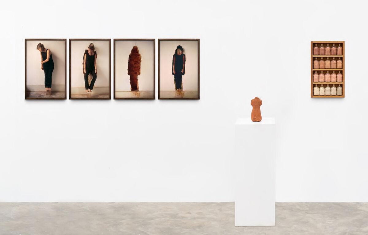 Brígida Baltar, installation view in Galeria Nara Roesler's booth at Frieze London 2020. Photo by Erika Mayumi. Courtesy of Galeria Nara Roesler.