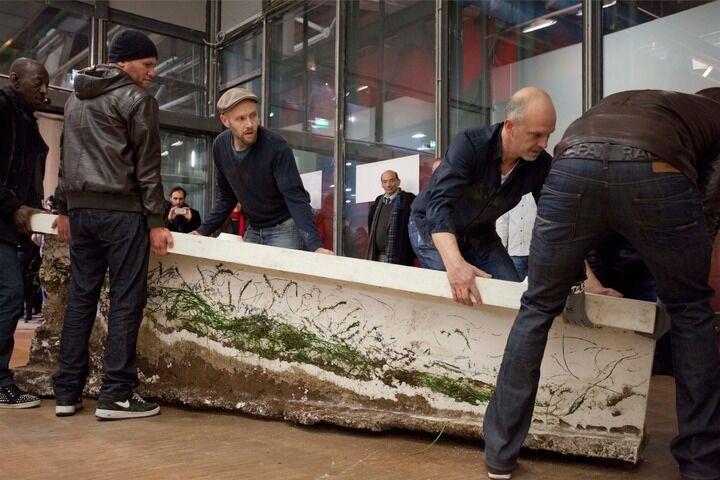 Simon Fujiwara,New Pompidou (Performance), 2014. Image© Nicolas Giraud 2014