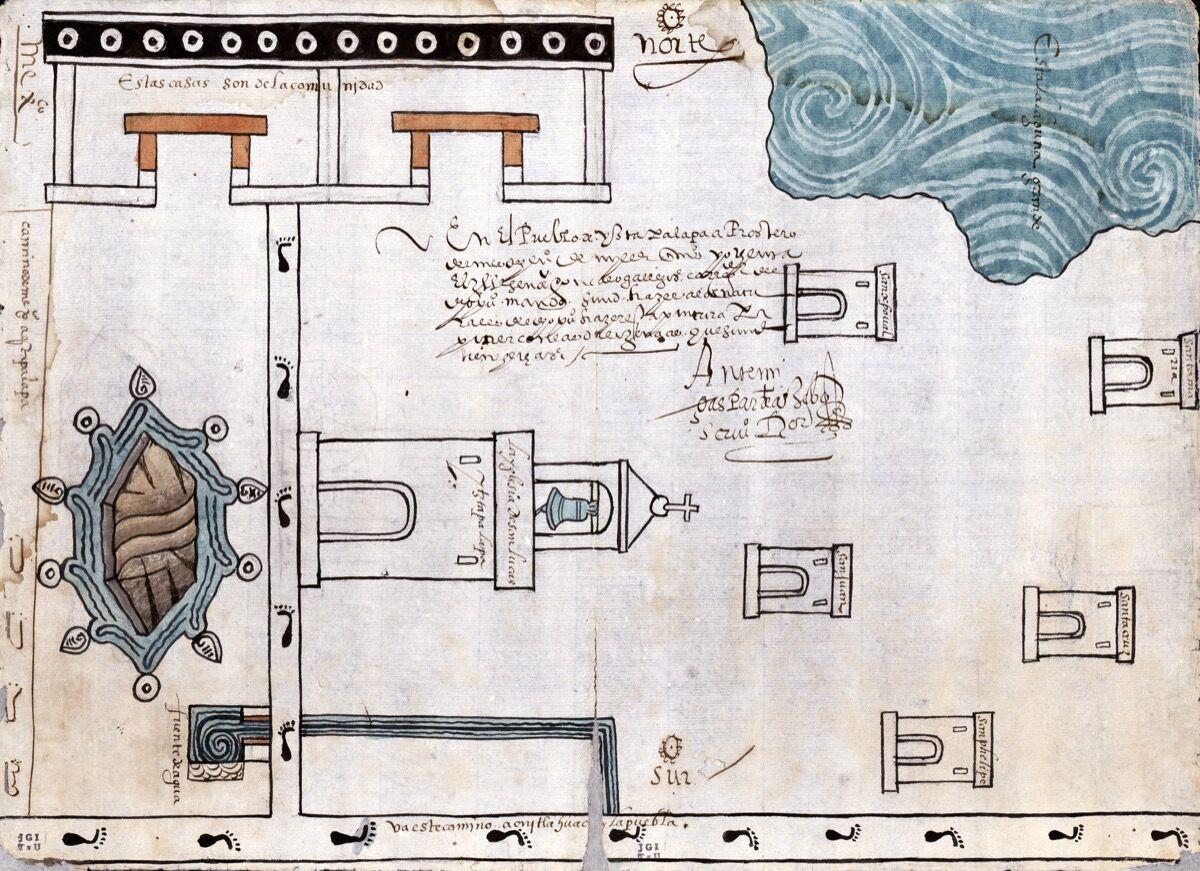 Attributed to Martín Cano, Ixtapalapa, Mexico, 1580. Courtesy of the Blanton Museum of Art.
