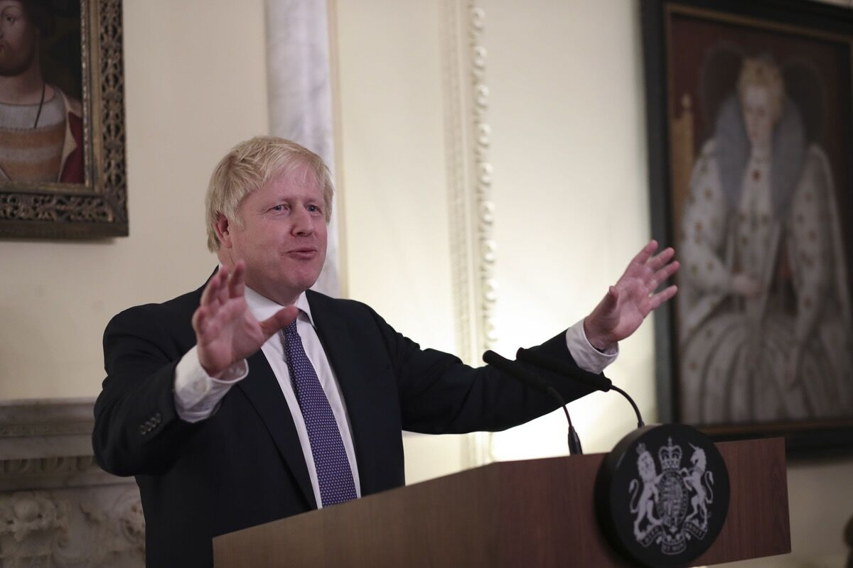 Prime Minister Boris Johnson Hosts the 2019 NATO Leaders meeting at 10 Downing Street. Photo by Number 10, via Flickr.