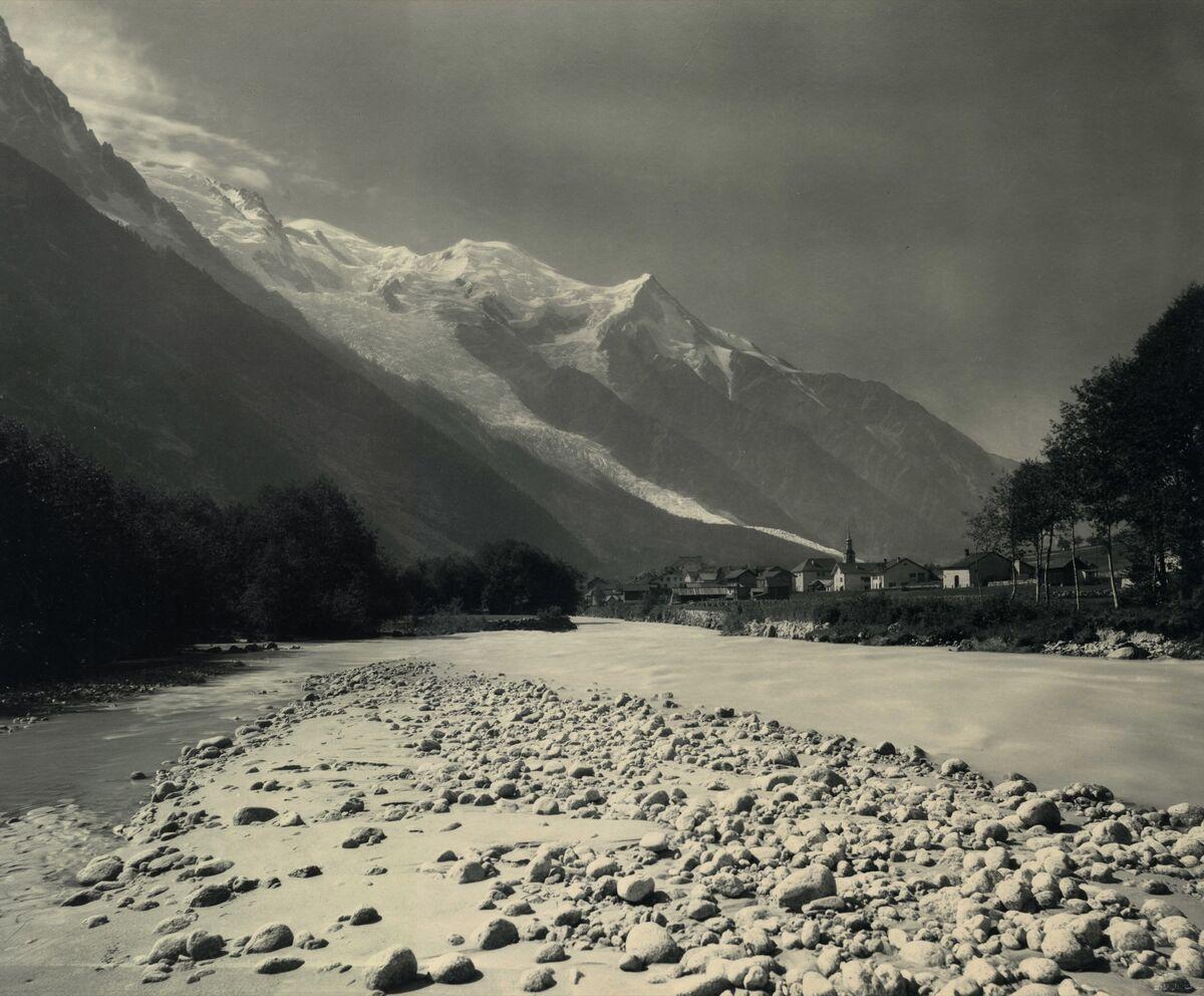 Adolphe Braun. Vallee de Chamonix, c. 1870. Courtesy of The Barnes Foundation, Michael Mattis and Judy Hochberg.