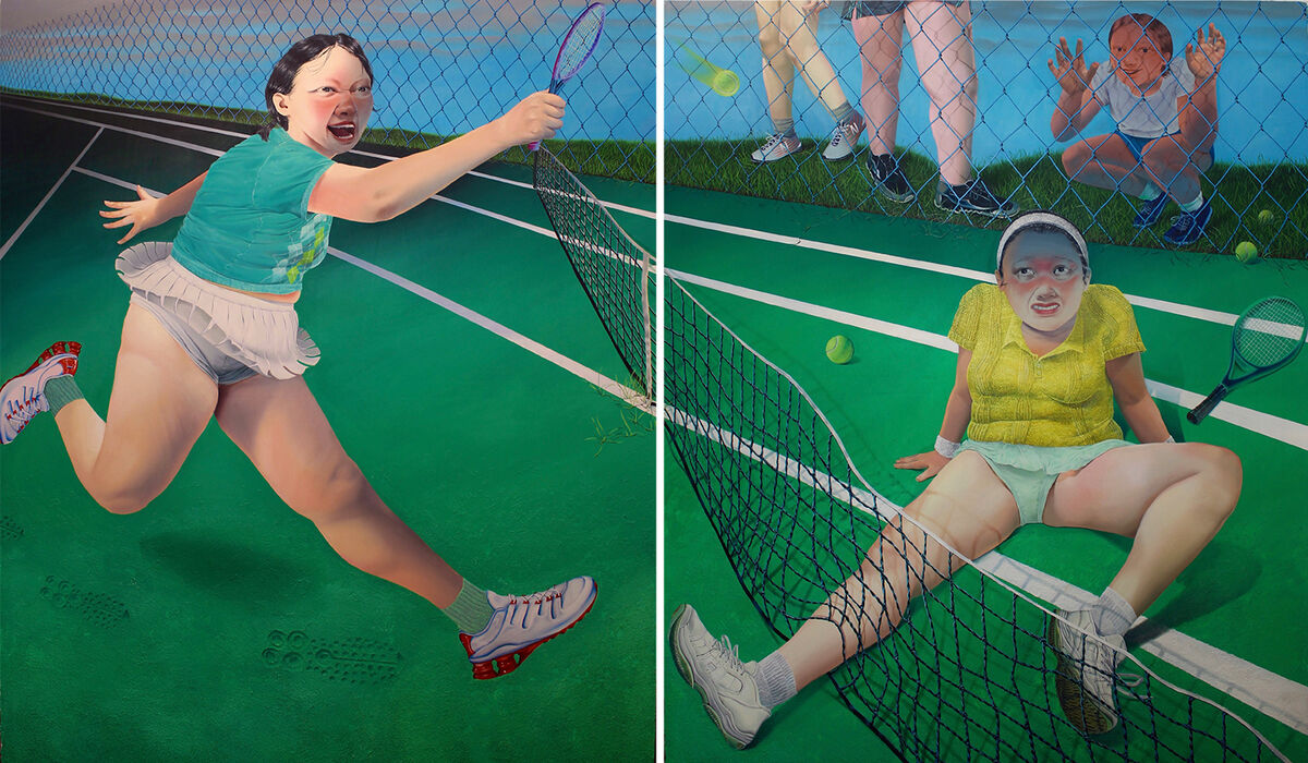 Sasha Gordon, Sore Loser, 2020. Courtesy of the artist and Matthew Brown Los Angeles.