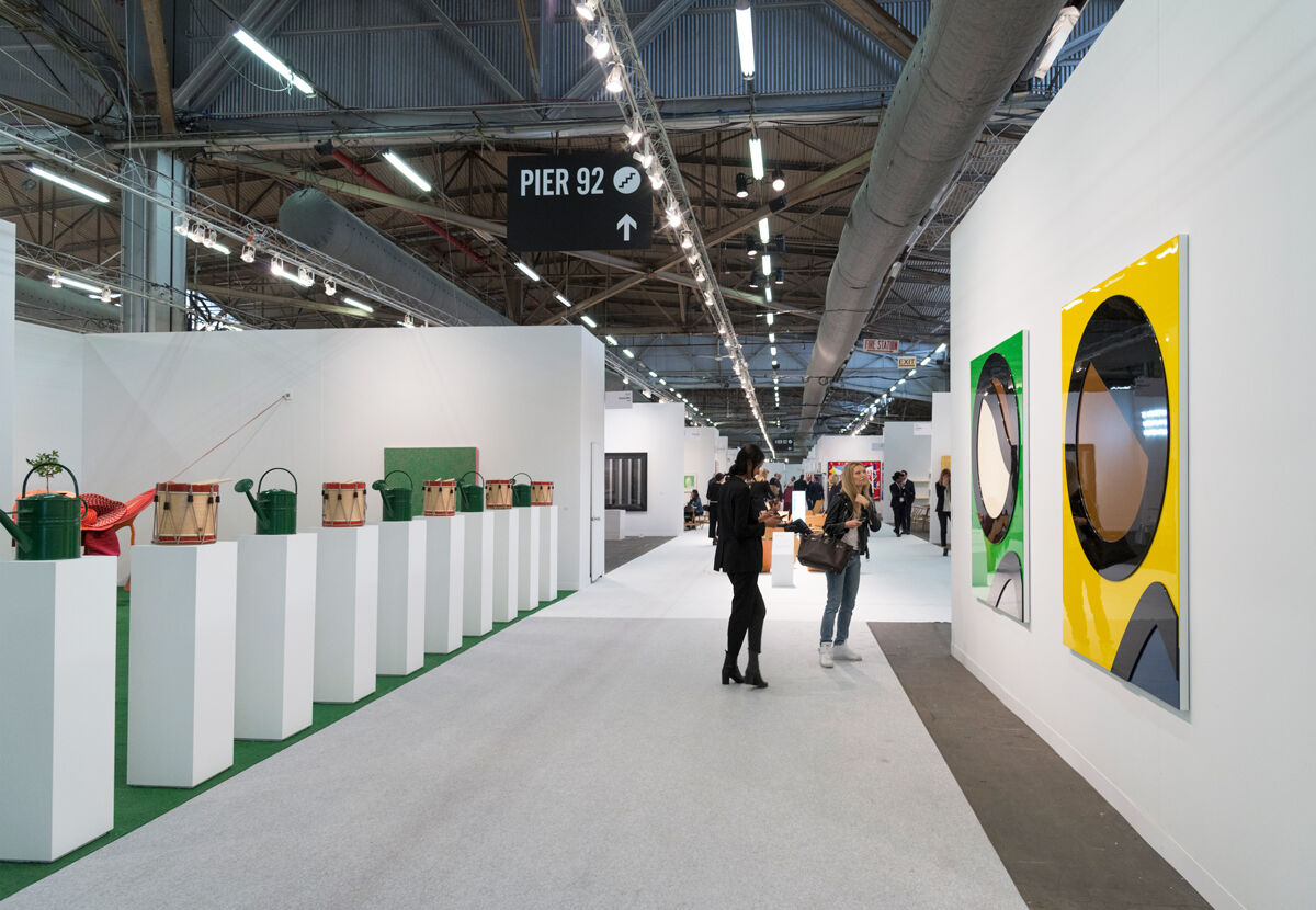 The Armory Show, 2017. Photo by Adam Reich for Artsy.