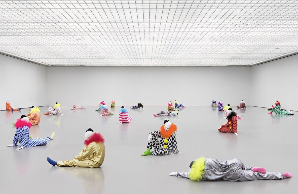 "Ugo Rondinone, Vocabulary of Solitude, 2014–16. Installation view at ""Ugo Rondinone: Vocabulary of solitude,"" Museum Boijmans Van Beuningen, Rotterdam, Netherlands. Photo by Stefan Altenburger. Courtesy of studio rondinone."