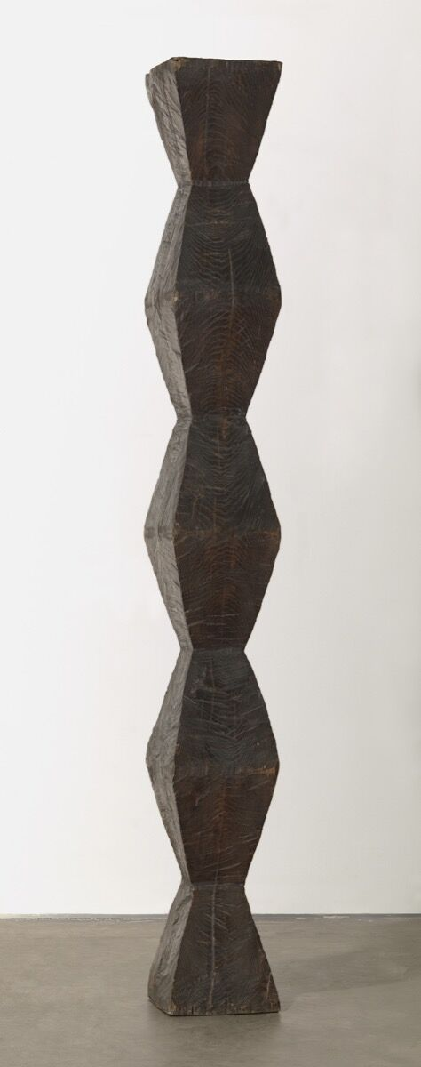 Constantin Brancusi, Endless Column, version I, 1918. © 2018 Artists Rights Society (ARS), New York / ADAGP, Paris. Photo by Thomas Griesel. Courtesy of The Museum of Modern Art, New York.