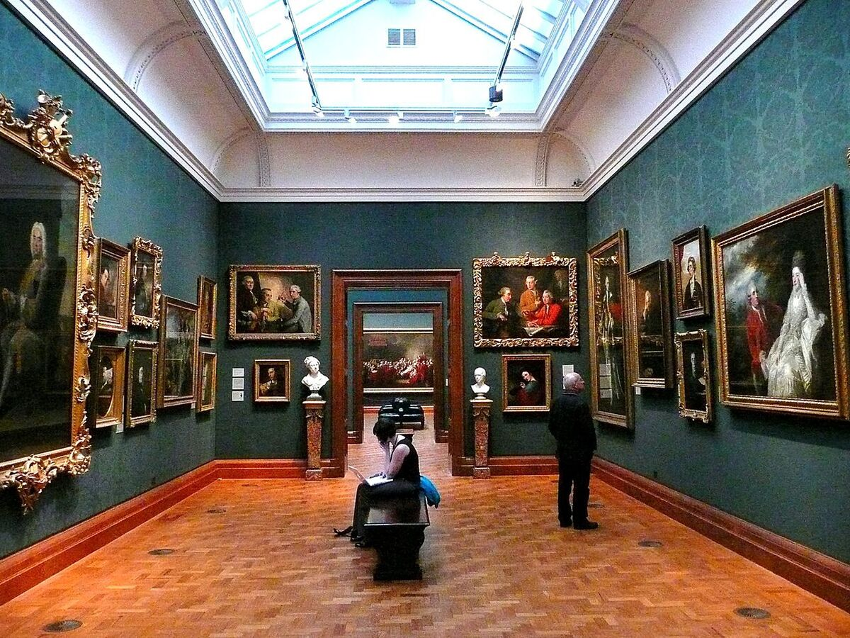 A room at the National Portrait Gallery in London. Photo by  Herry Lawford, via Wikimedia Commons.