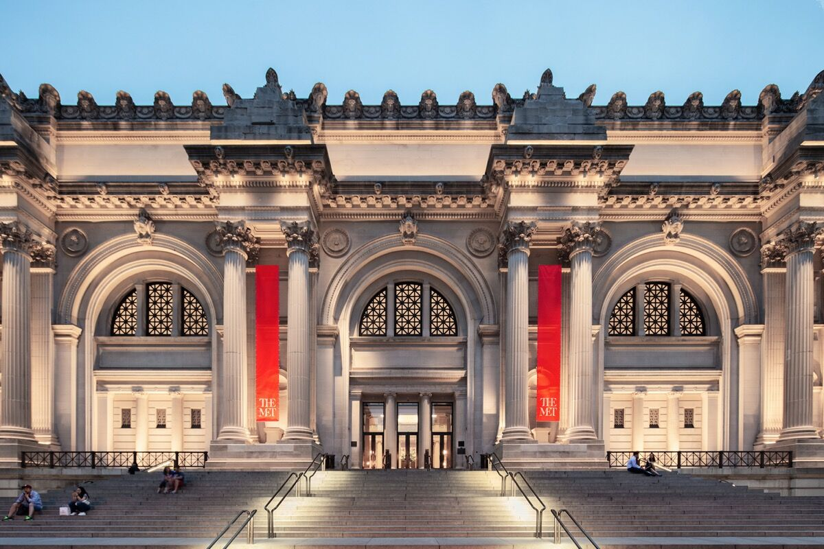 Exterior view of The Metropolitan Museum of Art, New York. Courtesy of The Metropolitan Museum of Art, New York.