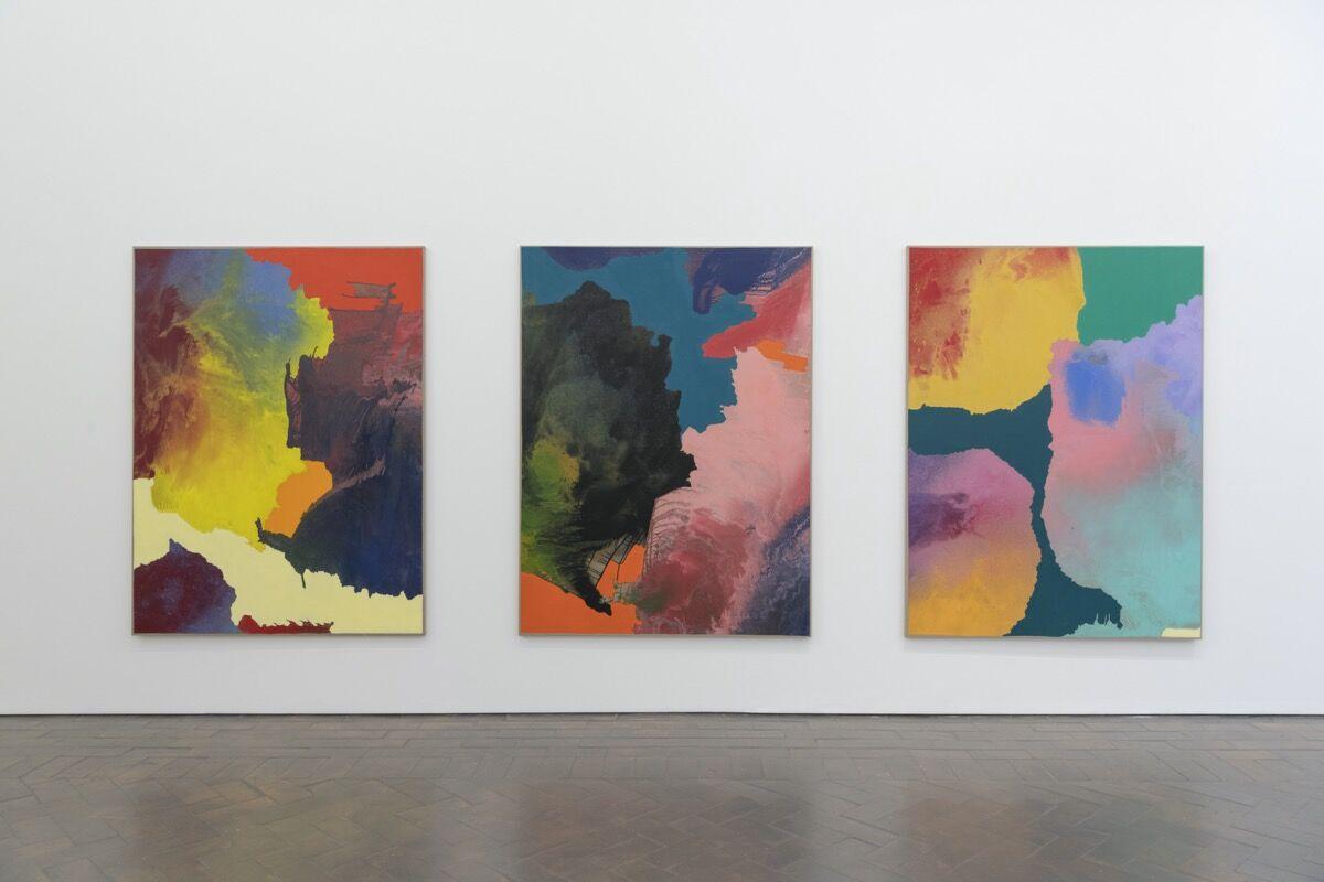 Gianni Politi, installation view at Galleria Lorcan O'Neill, Rome, 2019. Courtesy of Galleria Lorcan O'Neill.