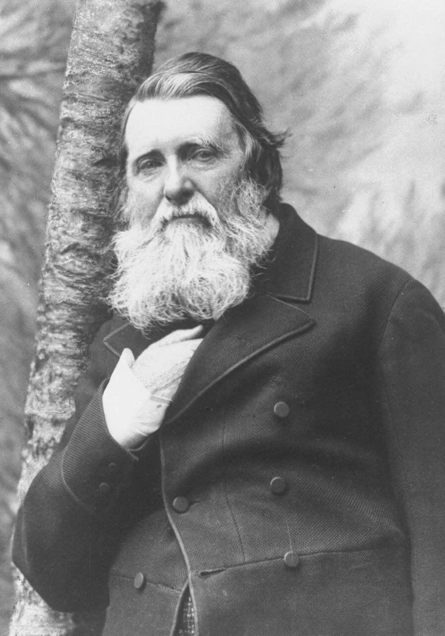 Herbert Rose Barraud, John Ruskin, 1885. Photo via Wikimedia Commons.