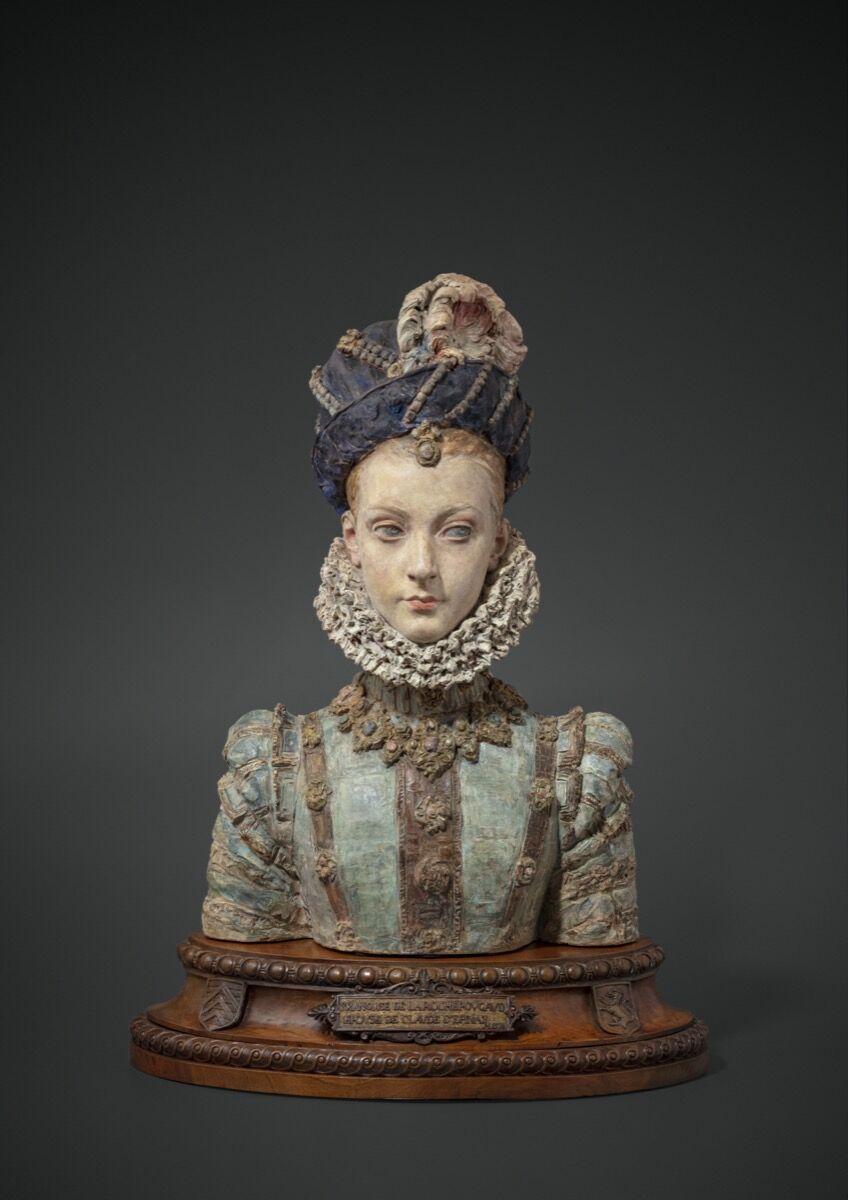 Prosper D'Épinay, Françoise de la Rochefoucauld, wife of Claude d'Épinay, 1880. Courtesy of Galerie Talabardon et Gautier.