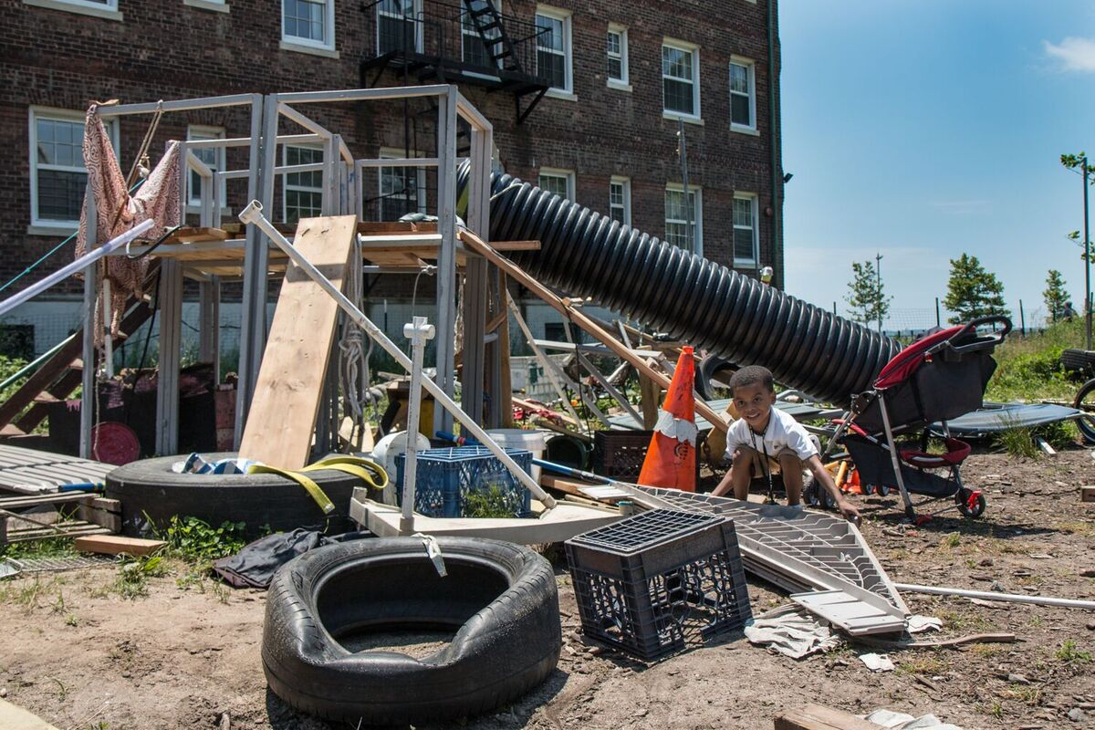 The Junk Playground Of New York City >> Adventure Playgrounds Could Make Your Kids More Creative Artsy