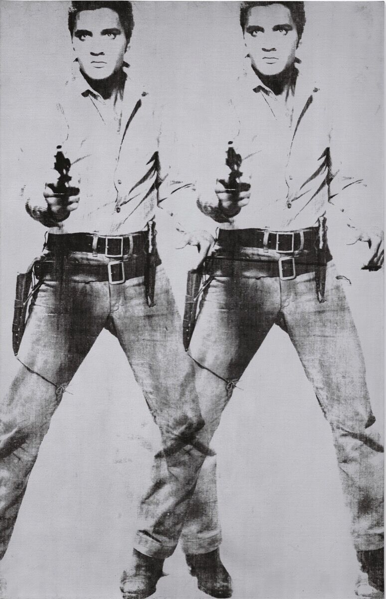 Andy Warhol, Double Elvis [Ferus Type] , 1963. Courtesy of Christie's.