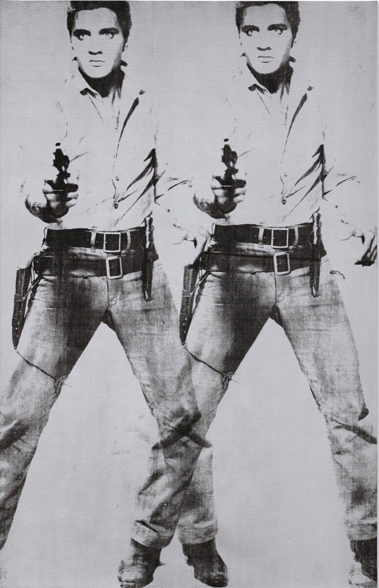 Andy Warhol, Doble Elvis [Tipo Ferus], 1963. Cortesía de Christie & # x27; s.