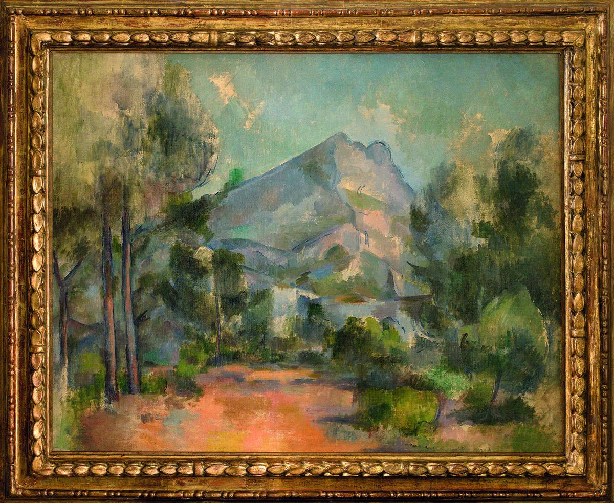 Paul Cézanne, La Montagne Sainte-Victoire, 1897. Courtesy of Kunstmuseum Bern.
