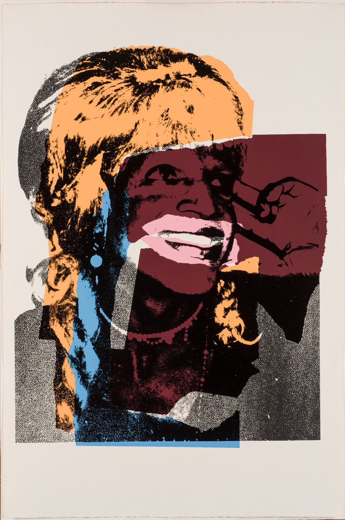 Andy Warhol, Ladies and Gentlemen, 1975. © 2018 The Andy Warhol Foundation for the Visual Arts, Inc. / Licensed by Artists Rights Society (ARS), New York.
