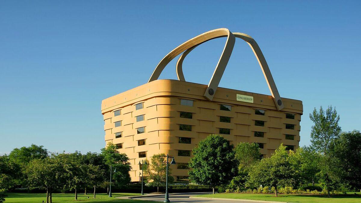 Longaberger Headquarters. Image via Wikimedia Commons.