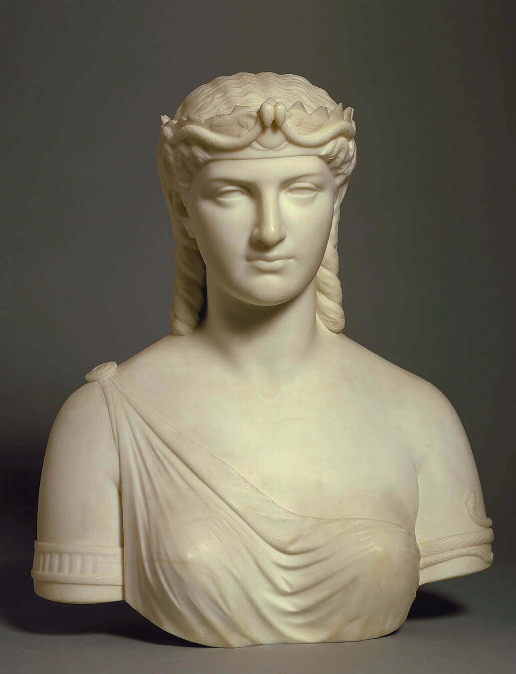 Margaret Foley, Cleopatra, 1871-1876. Courtesy of the Smithsonian American Art Museum.