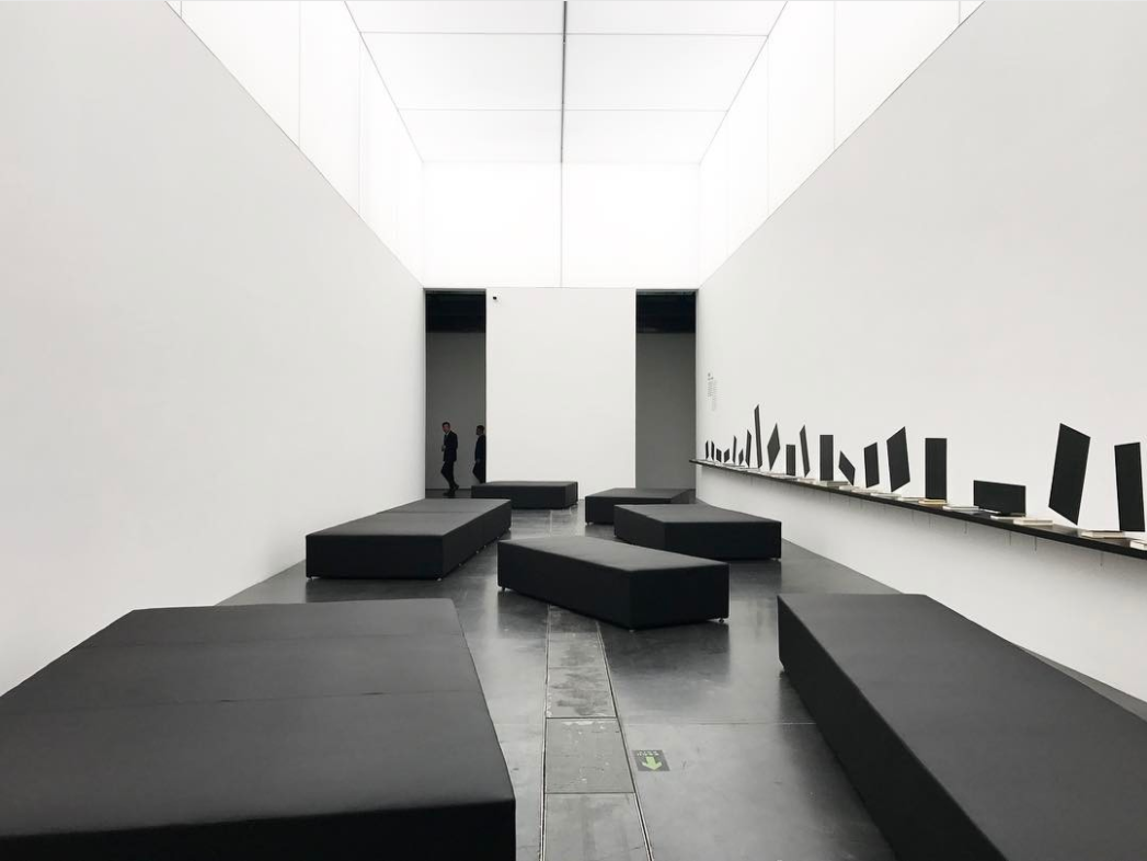 """Installation view of """"The New Normal"""" at Ullens Center for Contemporary Art. Photo by @christina_uoy, via Instagram."""