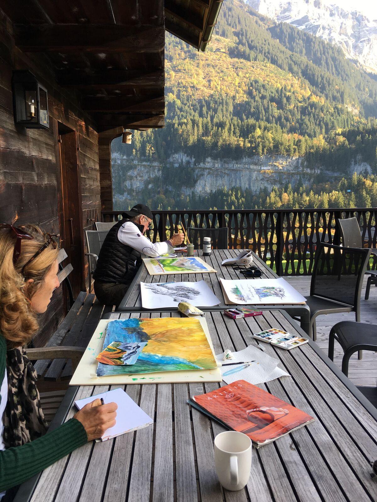 Photo from Artful Retreats Champery.