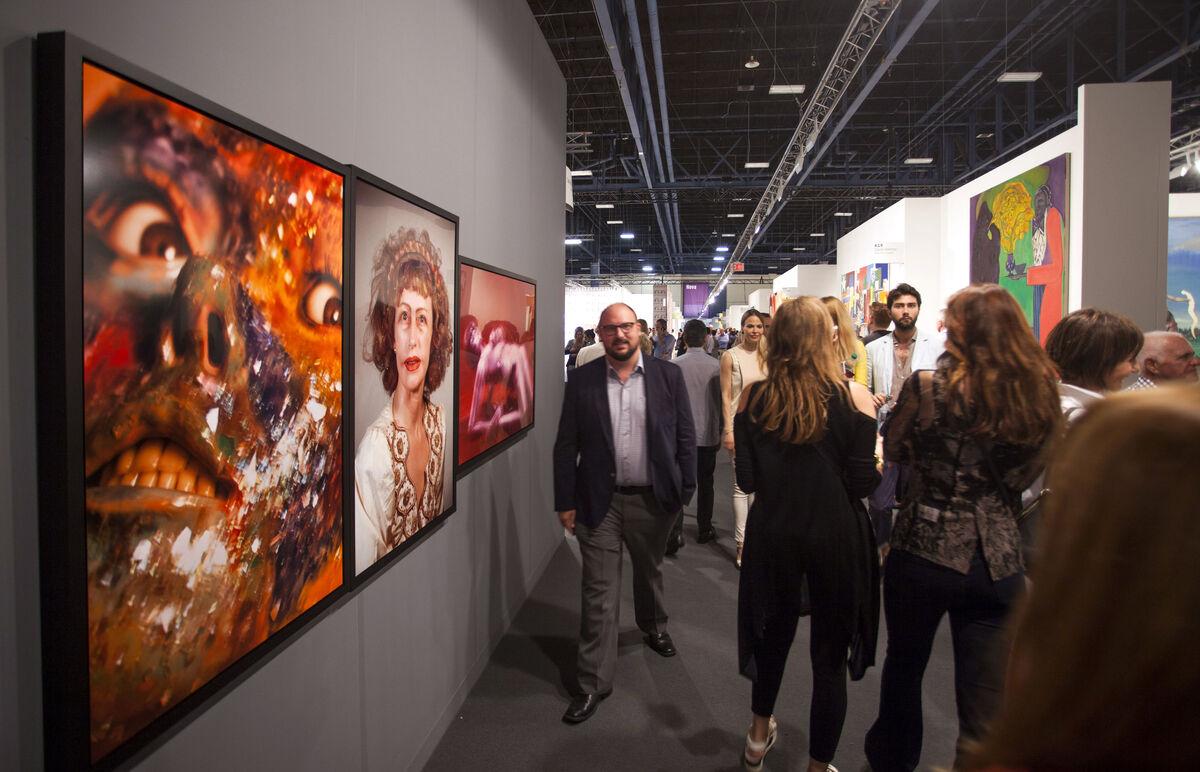 Art Basel in Miami Beach, 2015. Photo byOriol Tarridas for Artsy.