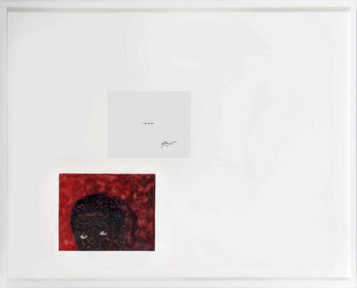 Toyin Ojih Odutola, Both, 2020. © Toyin Ojih Odutola. Courtesy of the artist and Jack Shainman Gallery, New York.
