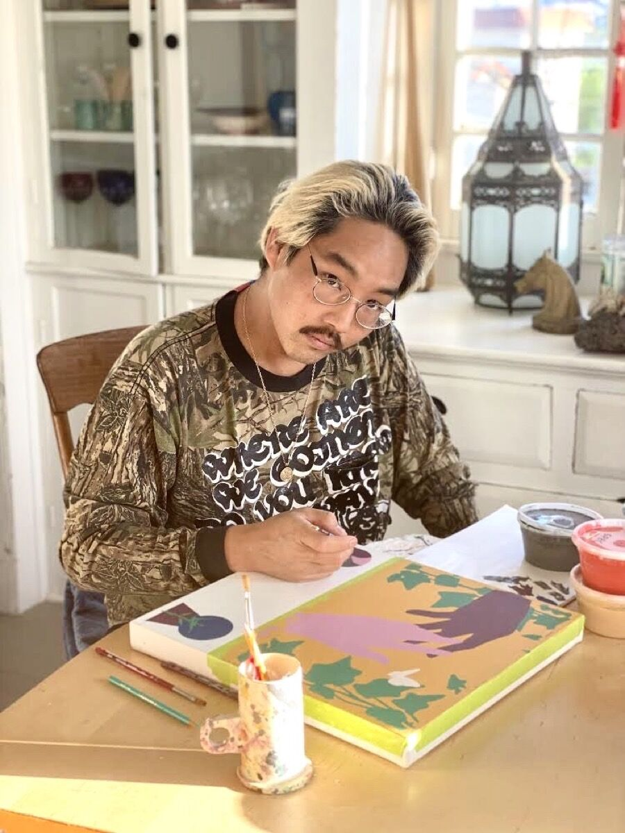 Portrait of Greg Ito, 2020. Courtesy of the artist and Anat Ebgi, Los Angeles.
