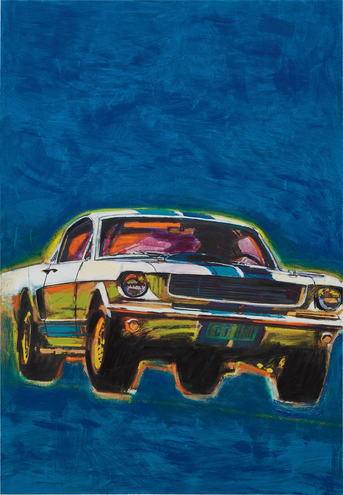 Richard Prince,  Mustang Painting, 2014–16.  Est. £700,000–1 million. Courtesy Phill