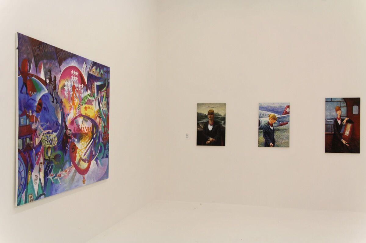 Installation view ofYin Xunzhi's work at Manifesta 11. Photo courtesy of Manifesta 11.