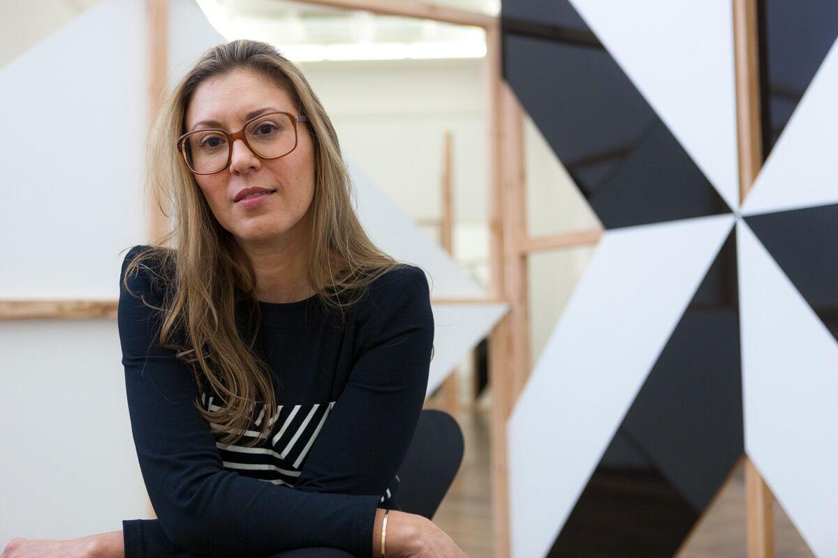 Portrait of Elena Filipovic by Zlatko Micic. Courtesy of Kunsthalle Basel.