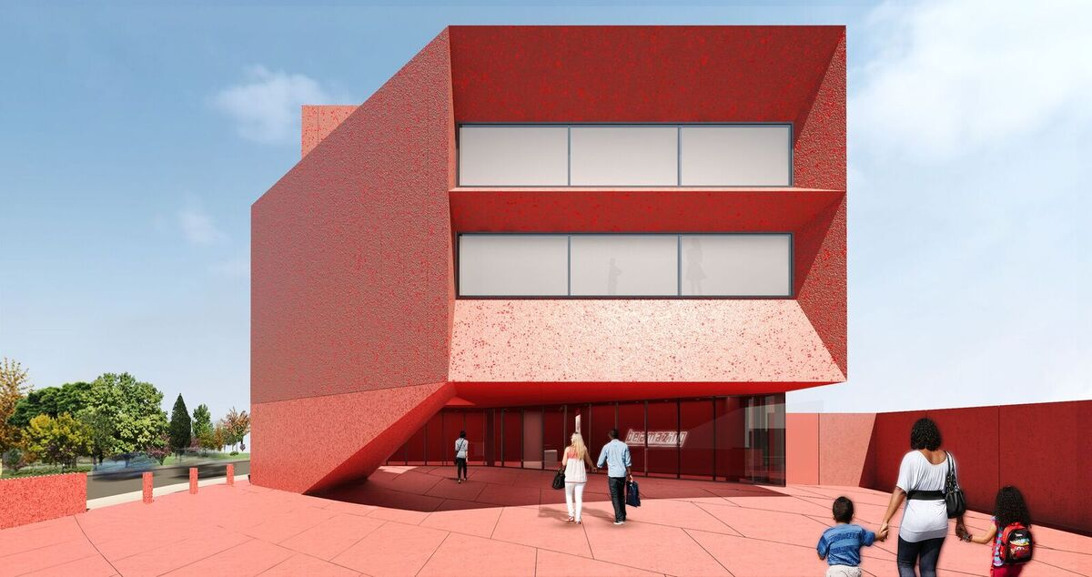The Linda Pace Foundation/Ruby City. Courtesy of the Linda Pace Foundation and Adjaye Associates.