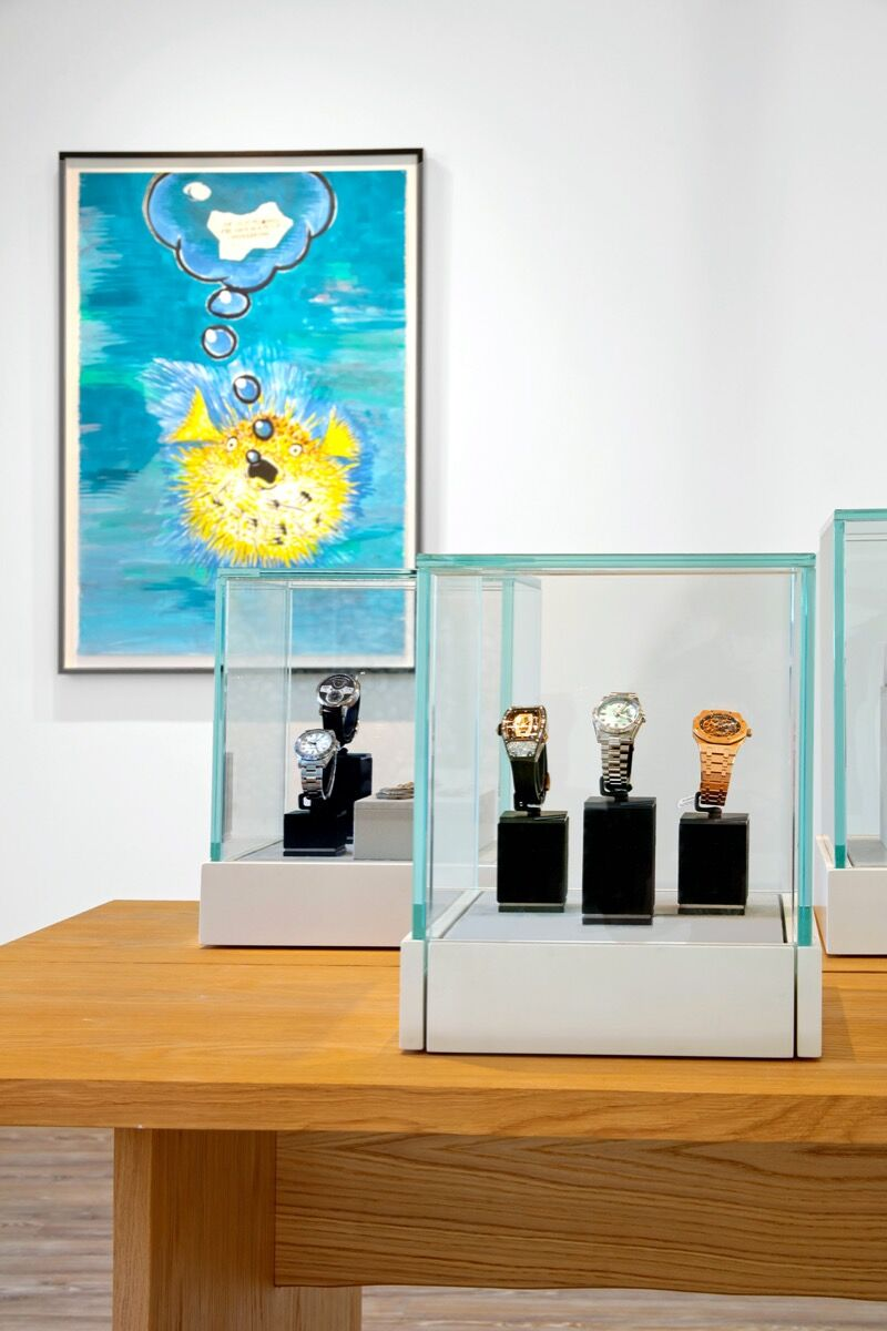 Installation view at Sotheby's Palm Beach Gallery. Courtesy of Sotheby's.