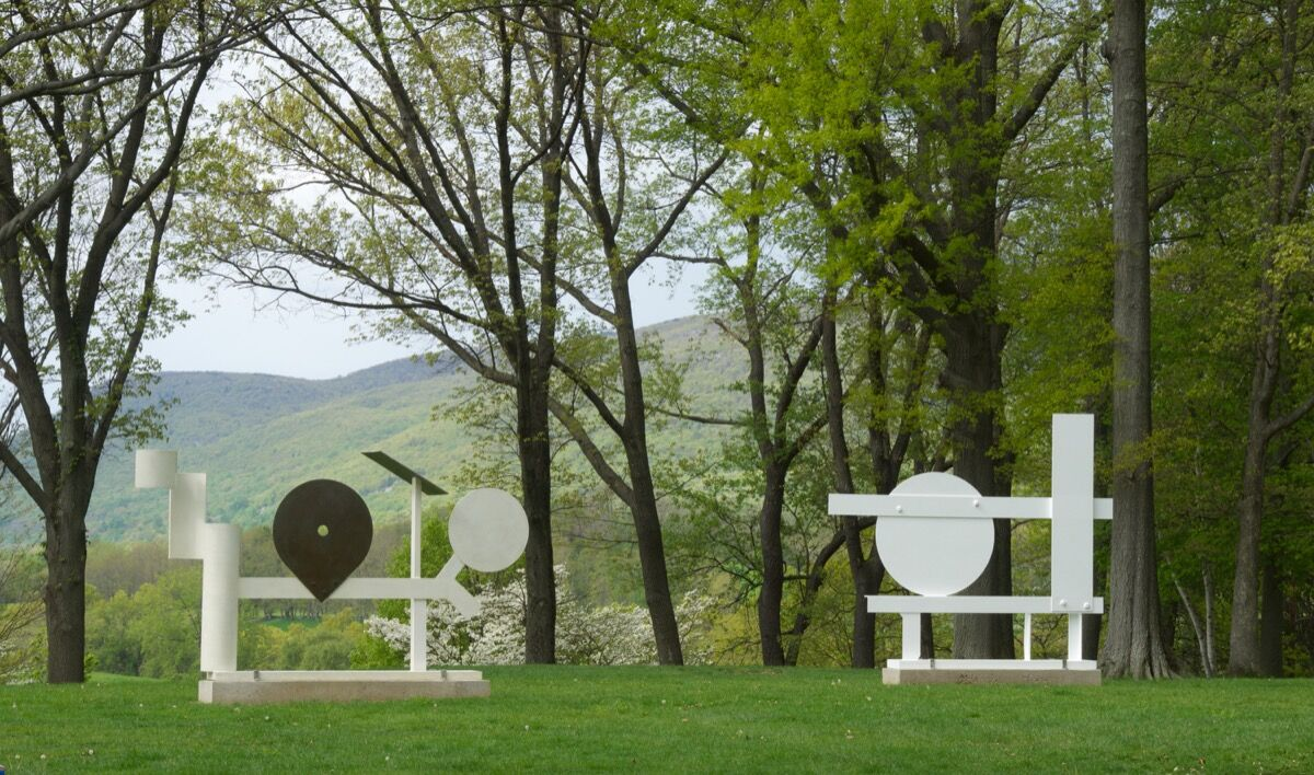 David Smith, Primo Piano II, 1962. Courtesy of The Estate of David Smith, New York, and Hauser & Wirth. © The Estate of David Smith/Licensed by VAGA, New York, NY. Photo by Jerry I. Thompson, courtesy of Storm King Art Center.