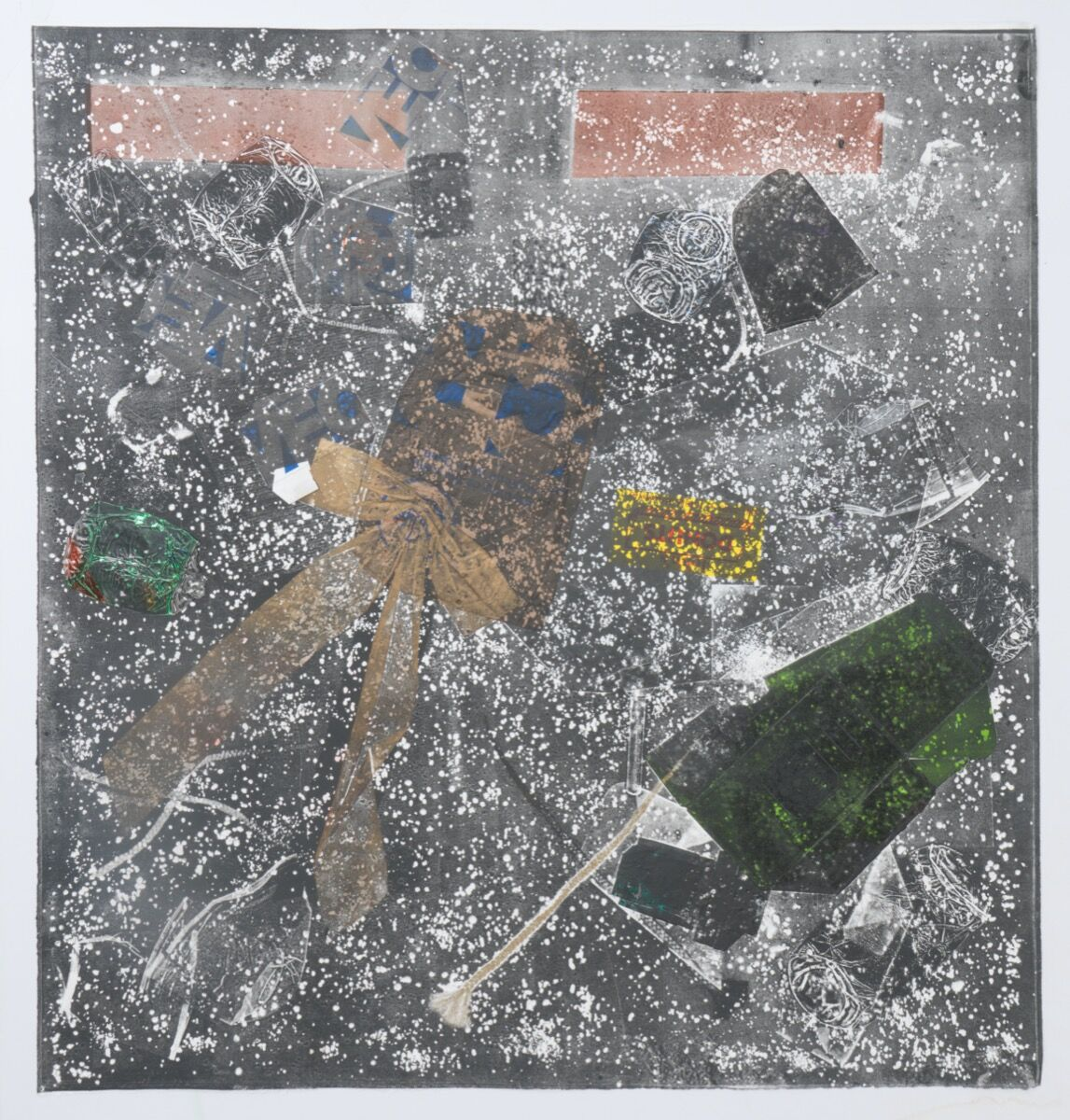 """Kahlil Robert Irving, Street Square:  """"Food and Liquor,"""" 2017. Courtesy of the artist and Callicoon Fine Arts, New York."""