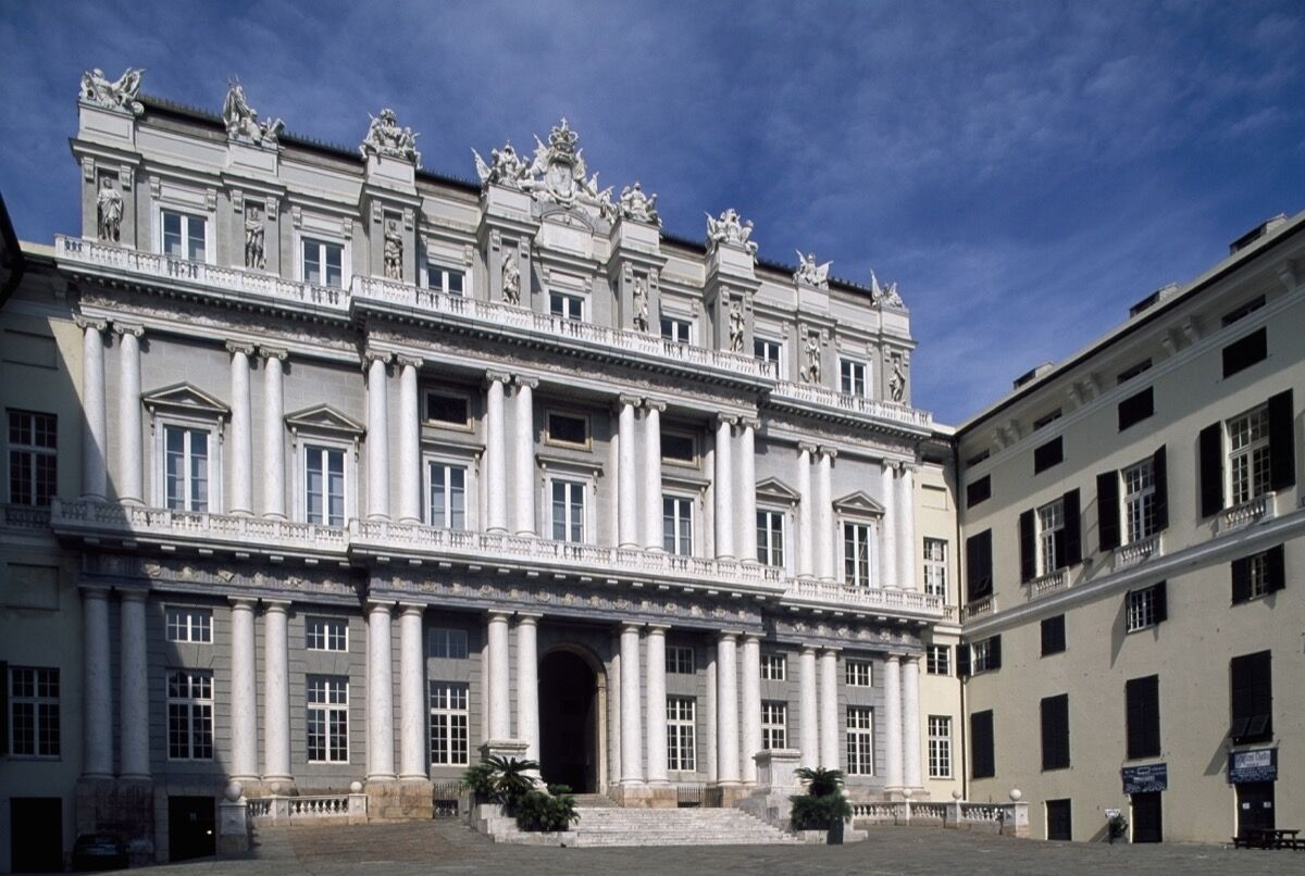 Palazzo Ducale at the Piazza Matteotti. Photo by DeAgostini/Getty Images.