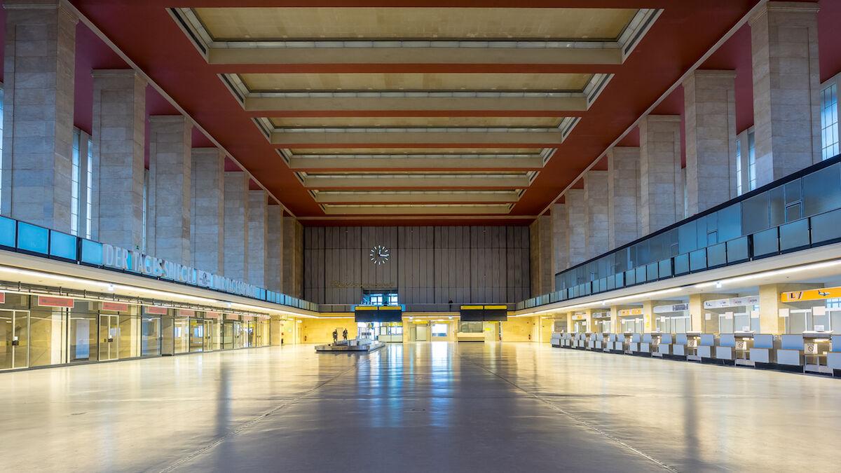 Tempelhof Airport, the venue for Art Berlin. Photo by K.H.Reichert, via Flickr.