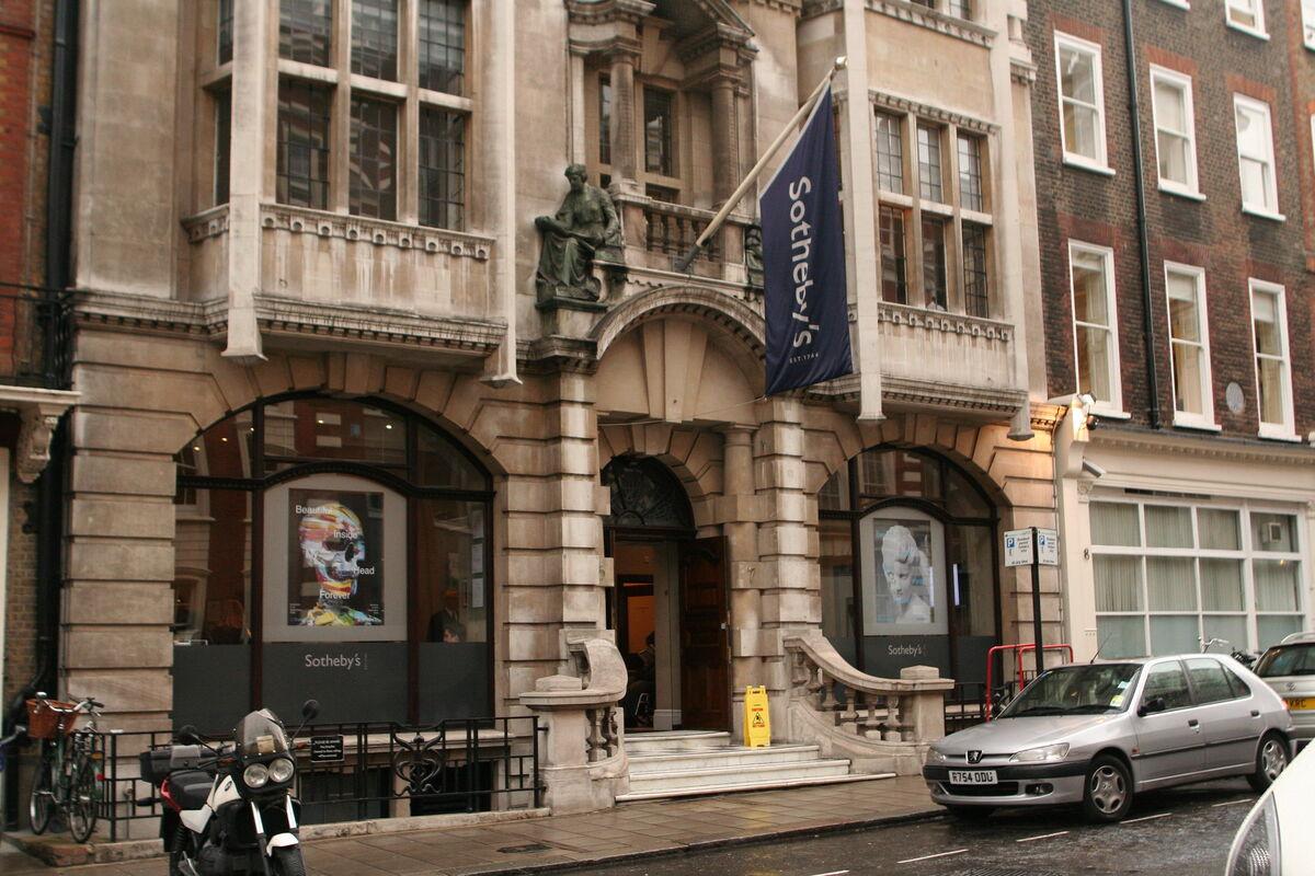 Sotheby's auction house in London. Photo by Amanda Farah, via Flickr.