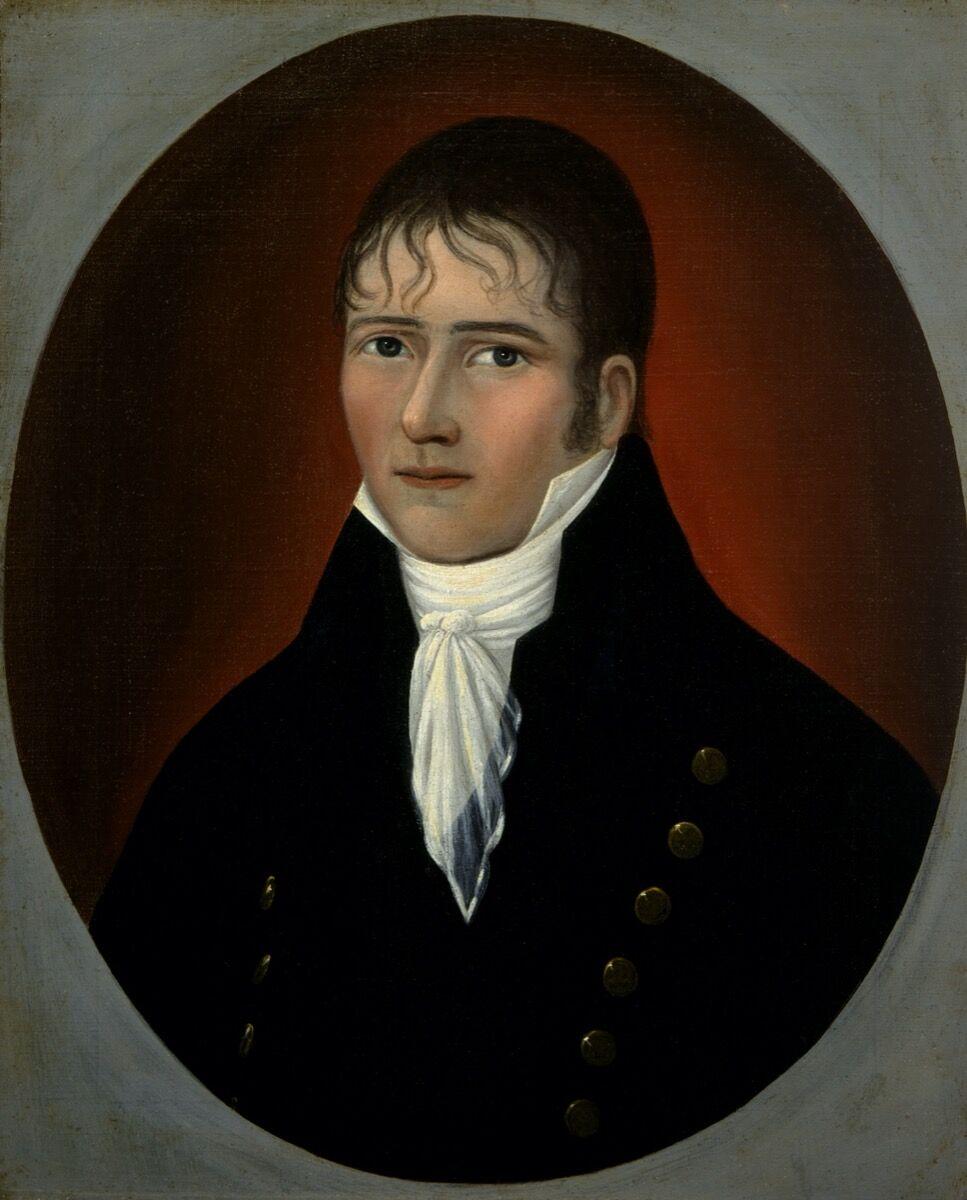Joshua Johnson, Portrait of Sea Captain John Murphy, c. 1810. Courtesy of Smithsonian American Art Museum.
