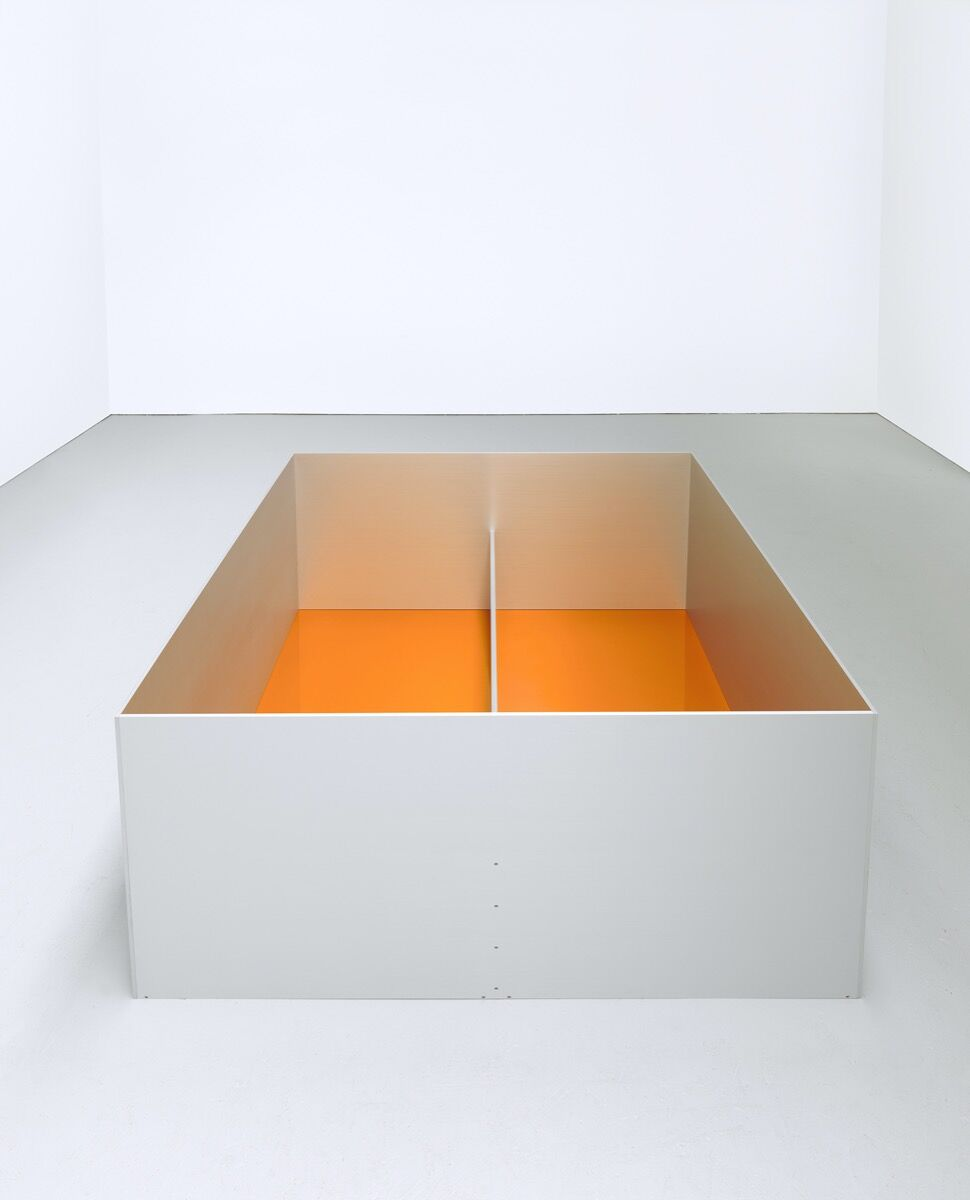 Donald Judd, Untitled, 1989. © 2020 Judd Foundation / Artists Rights Society (ARS), New York. Photo © Tim Nighswander/Imaging4Art. Courtesy of Glenstone Museum, Potomac, Maryland; and The Museum of Modern Art, New York.