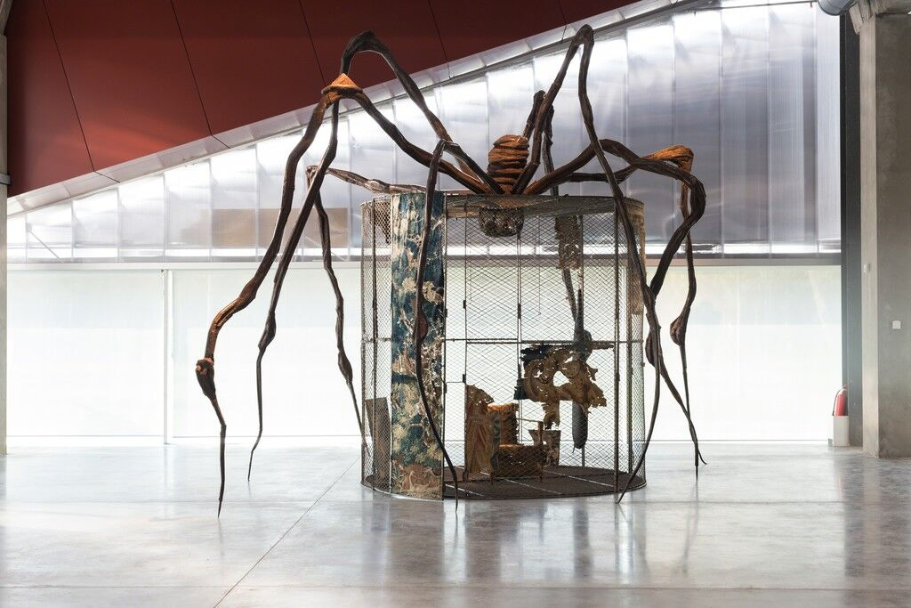 """Louise Bourgeois. Structure of Existence: The Cells"" (2015) Photo: Egor Slizyak"
