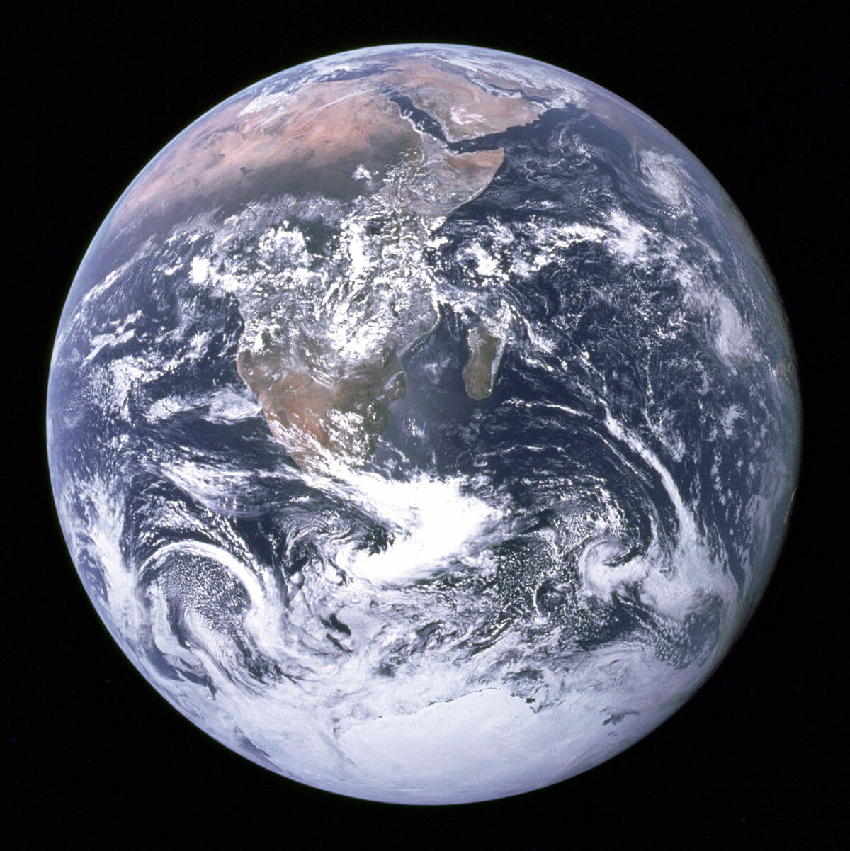 The Blue Marble, 1972. Photo via NASA.