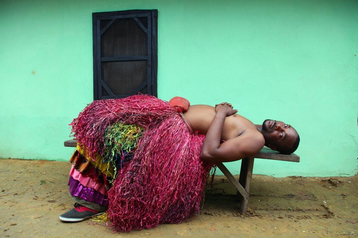 "Zina Saro-Wiwa, Dream from ""Men of the Ogele."" Image courtesy of the artist."