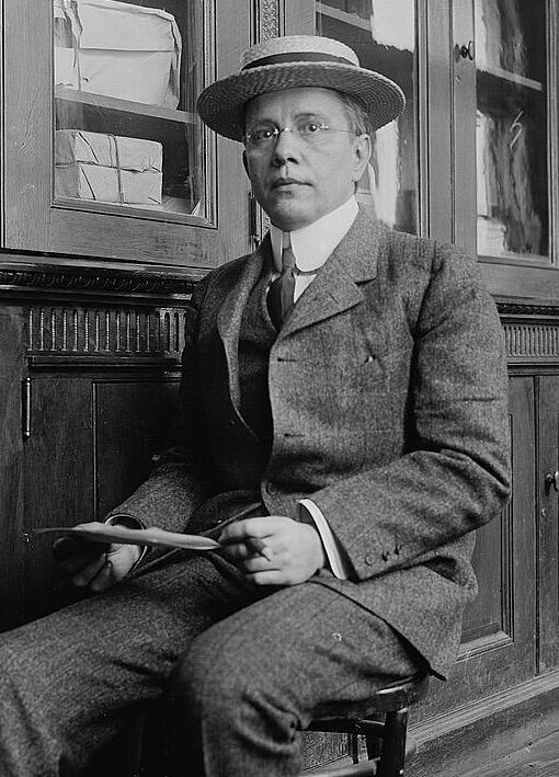 Harry Kendall Thaw, 1905. Image via Wikimedia Commons.