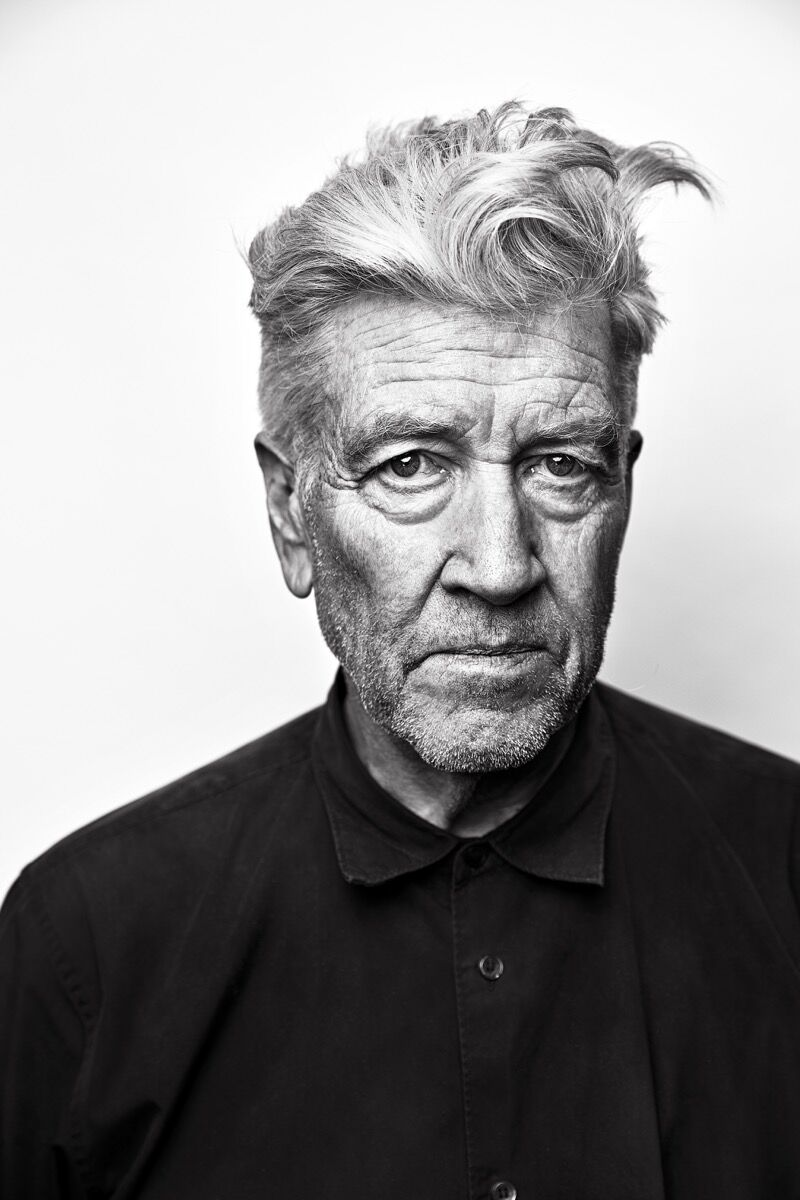 Portrait of David Lynch by Josh Telles. Courtesy of the artist and Sperone Weswater, New York.