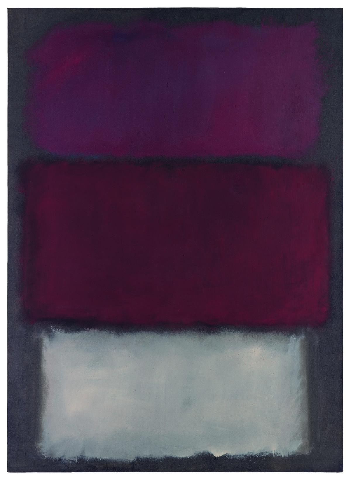 Mark Rothko, Untitled, 1960. Courtesy Sotheby's.