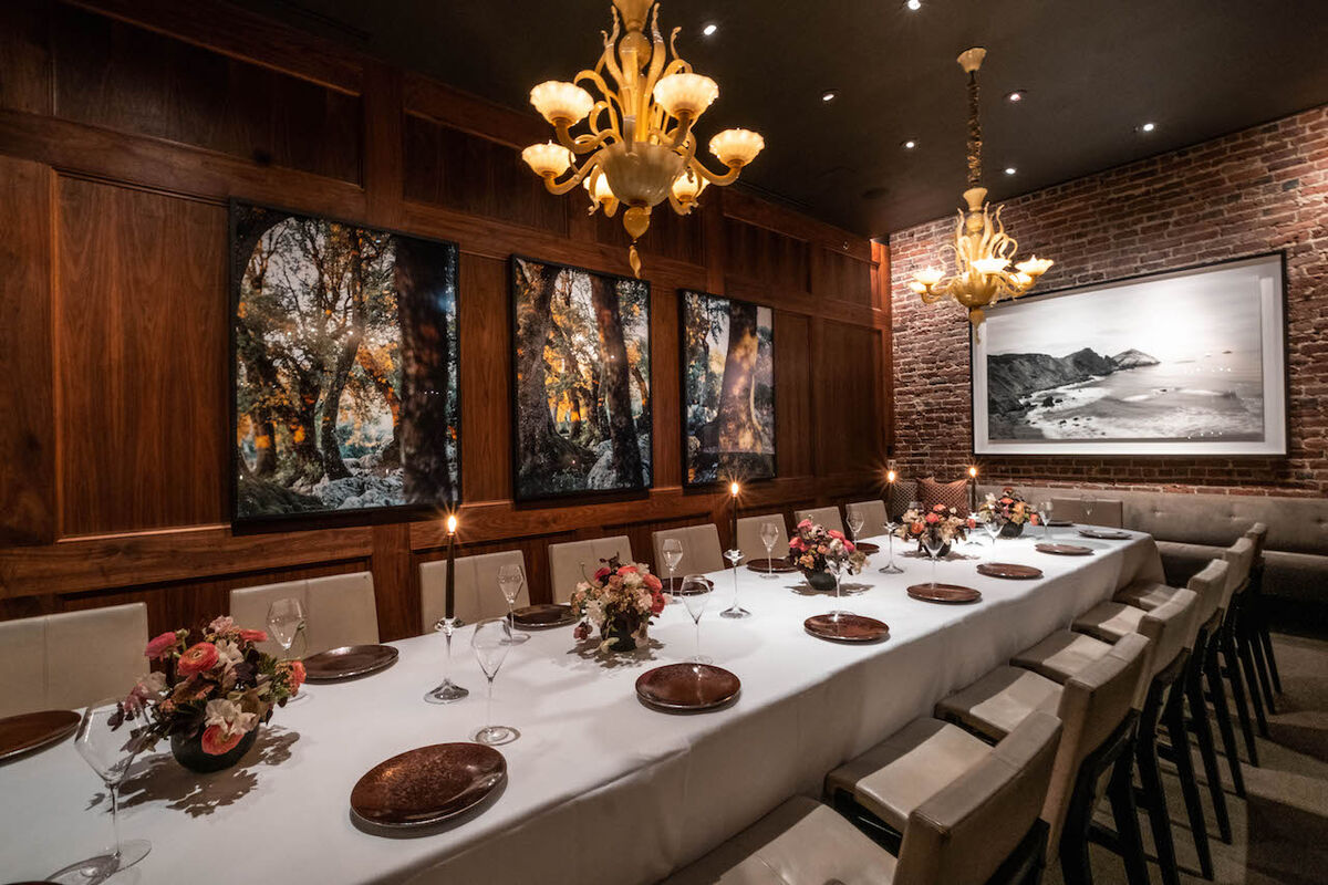 Installation view of artworks at Quince. Courtesy of the Tusks.