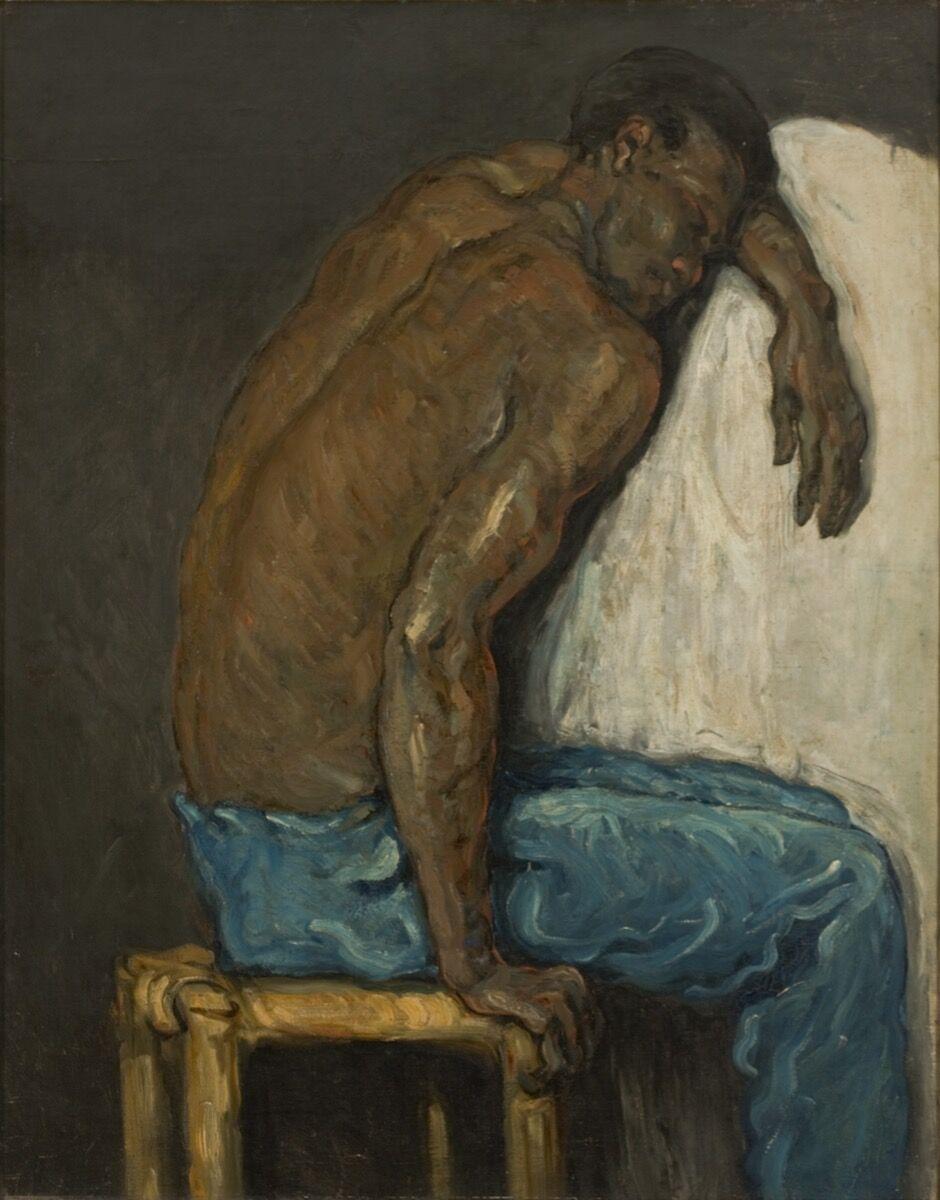Paul Cézanne, The Negro Scipio, c. 1867. © João Musa. Courtesy of Musée Marmottan Monet.